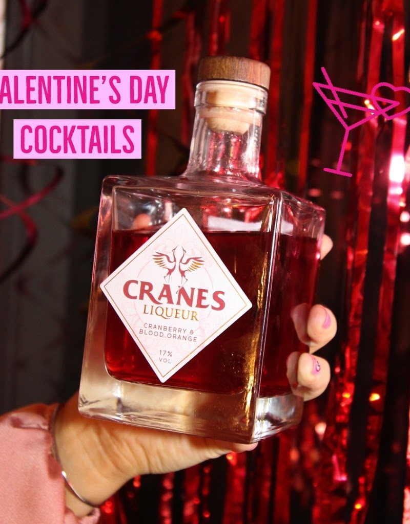 Valentine's Day Cocktails | Cranes