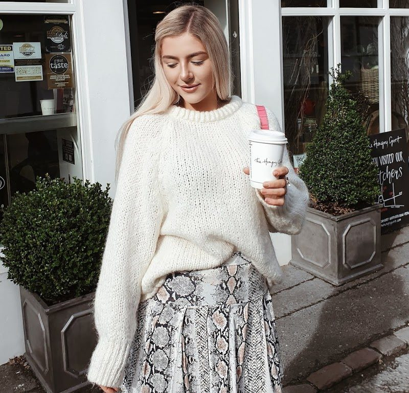 How To Style The Printed Mini in Spring | I SAW IT FIRST